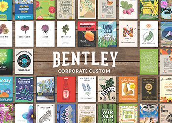 Seed packets for corporate and bulk orders of seeds