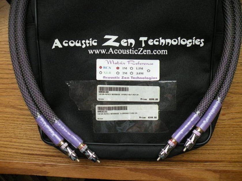 Acoustic Zen MATRIX (LATEST VERSION) XLR ONE METER