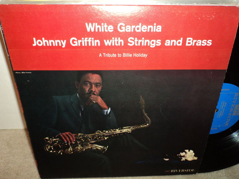 """Johnny Griffin With Strings and Brass - """"White Gardenia"""" A Tribute to Billie Holiday Riverside"""