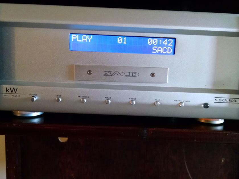 Musical Fidelity Musical Fidelity kW SACD Tube based SACD player