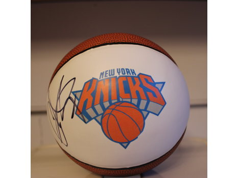 Carmelo Anthony Signed Basketball