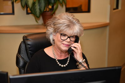 Sherri at the Front Desk