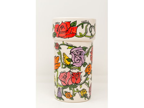 6th Grade: Bloomin' Beautiful Painted Vase