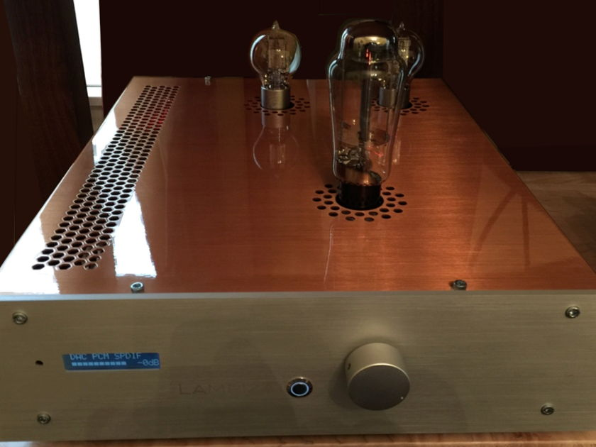 Lampizator Golden Gate DAC with volume control and boutique parts. Super Mint!
