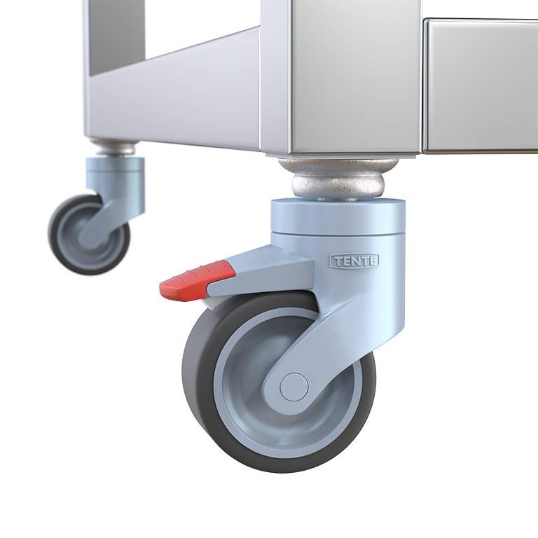 roltafel detail van wiel