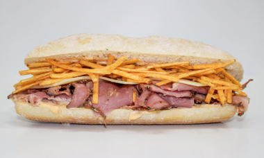Big Star Sandwich Corned Beef, Swiss & Mack Sauce