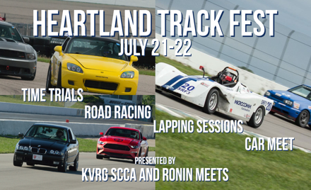 Heartland Summer Trackfest hosted by KVRG