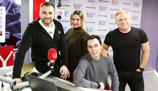 Родион Газманов заглянул в утреннее шоу «Русские Перцы» на «Русском Радио» - Новости радио OnAir.ru
