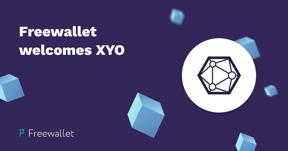 Freewallet supports XYO cryptocurrency