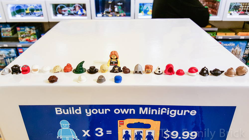 build a minifigure