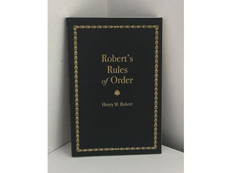 Robert's Rules of Order (#6)
