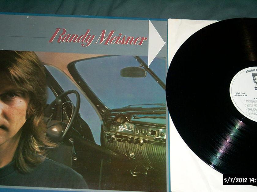 Randy Meisner - S/T White label promo lp nm