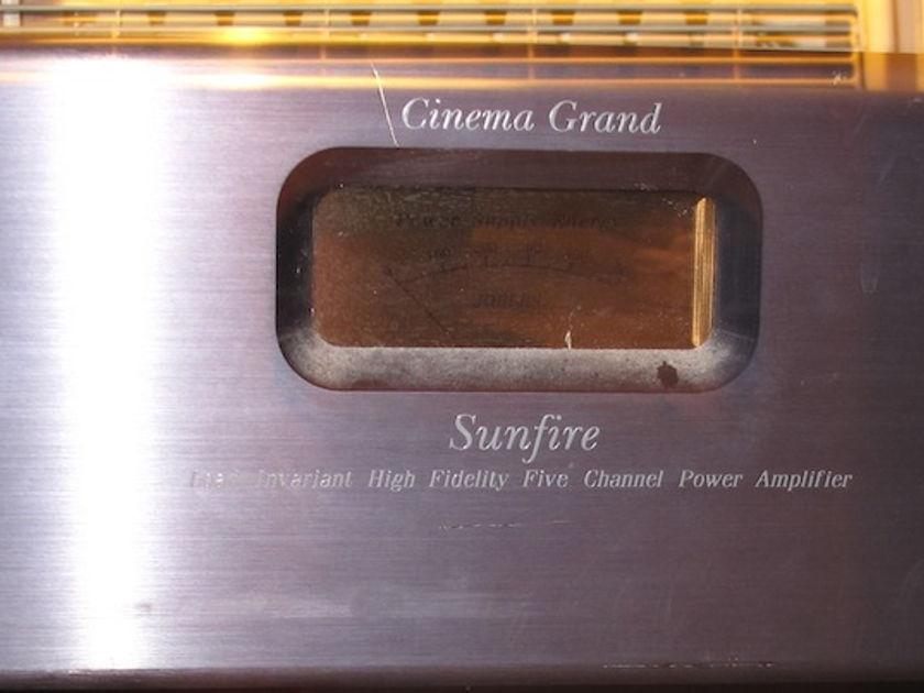Sunfire Cinema Grand 5 Channel amplifier