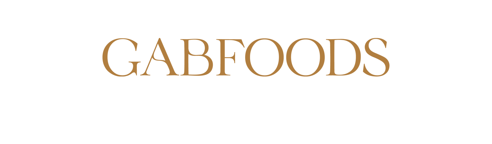 Logo - Gabfoods