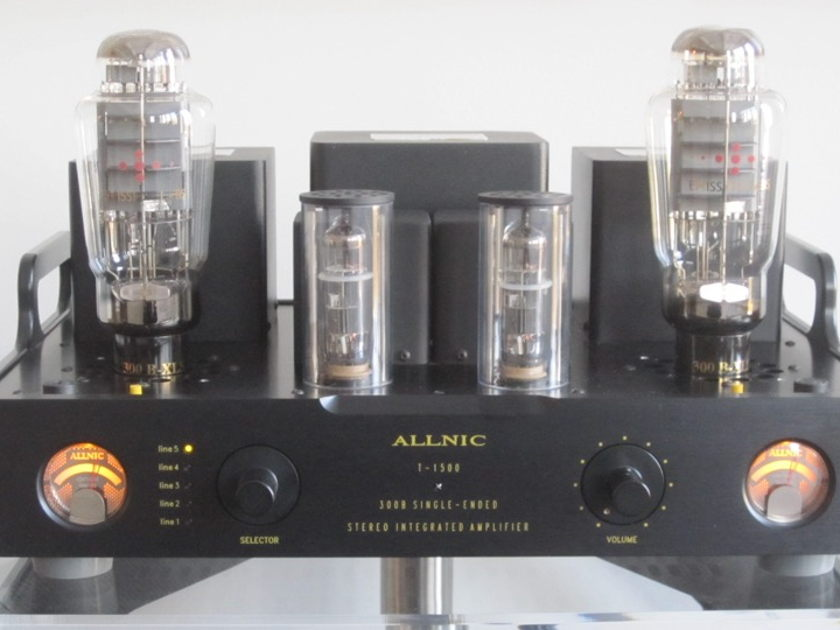 Allnic Audio T1500 Integrated 300B SET Amp with upgraded EML 300B-XLS Tubes