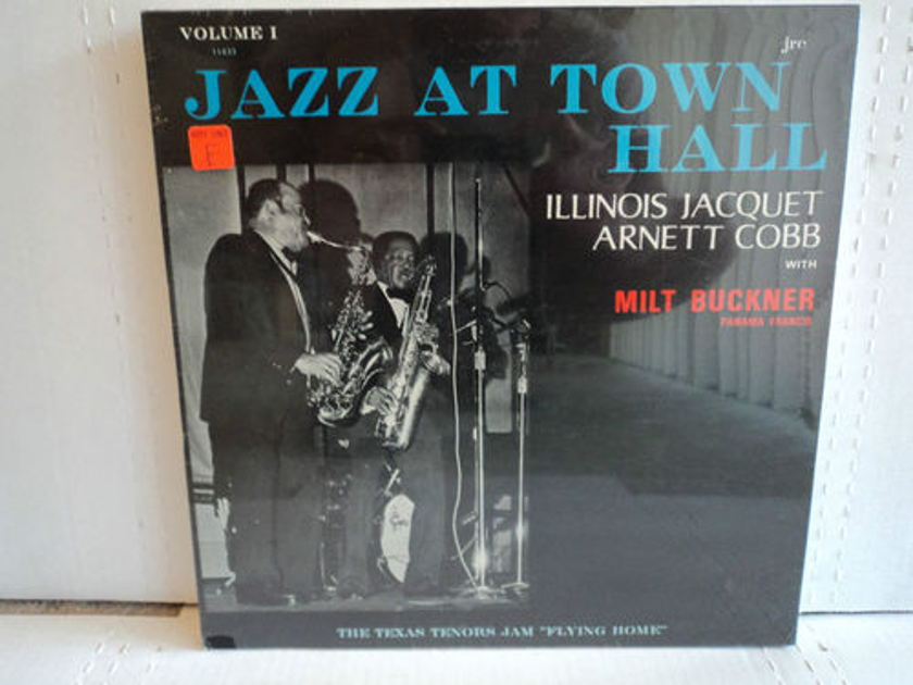 Illinois Jacquet Arnett Cobb with Milt Buckner - Jazz At Town Hall Volume 1 Sealed