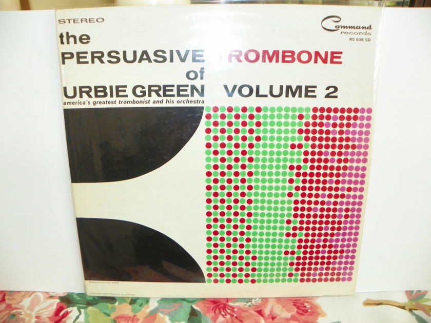 URBIE GREEN & HIS ORCH. - THE PERSUASIVE TROMBONE