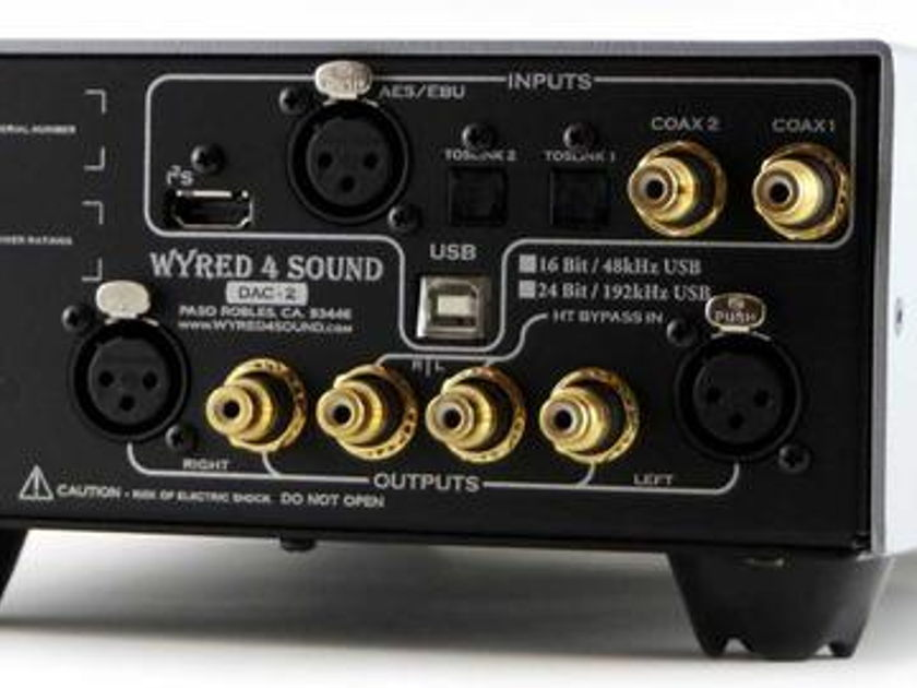 Wyred 4 Sound DAC-2 computer audio 24/192 usb asyn