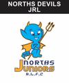 norths devils juniors brisbane rugby league emu sportswear ev2 club zone image custom team wear