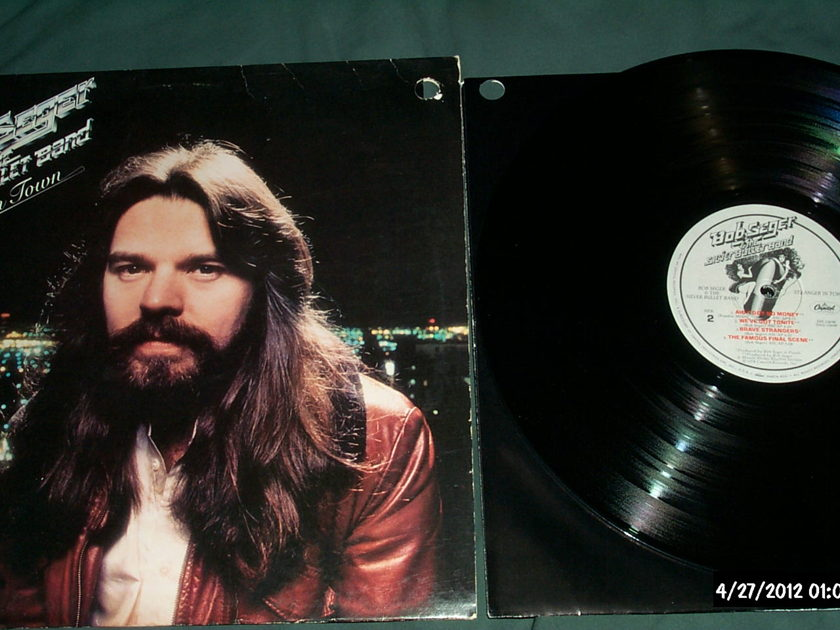 Bob Seger - Stranger In Town LP NM