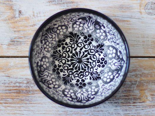 Маленькая керамическая пиала (черная)