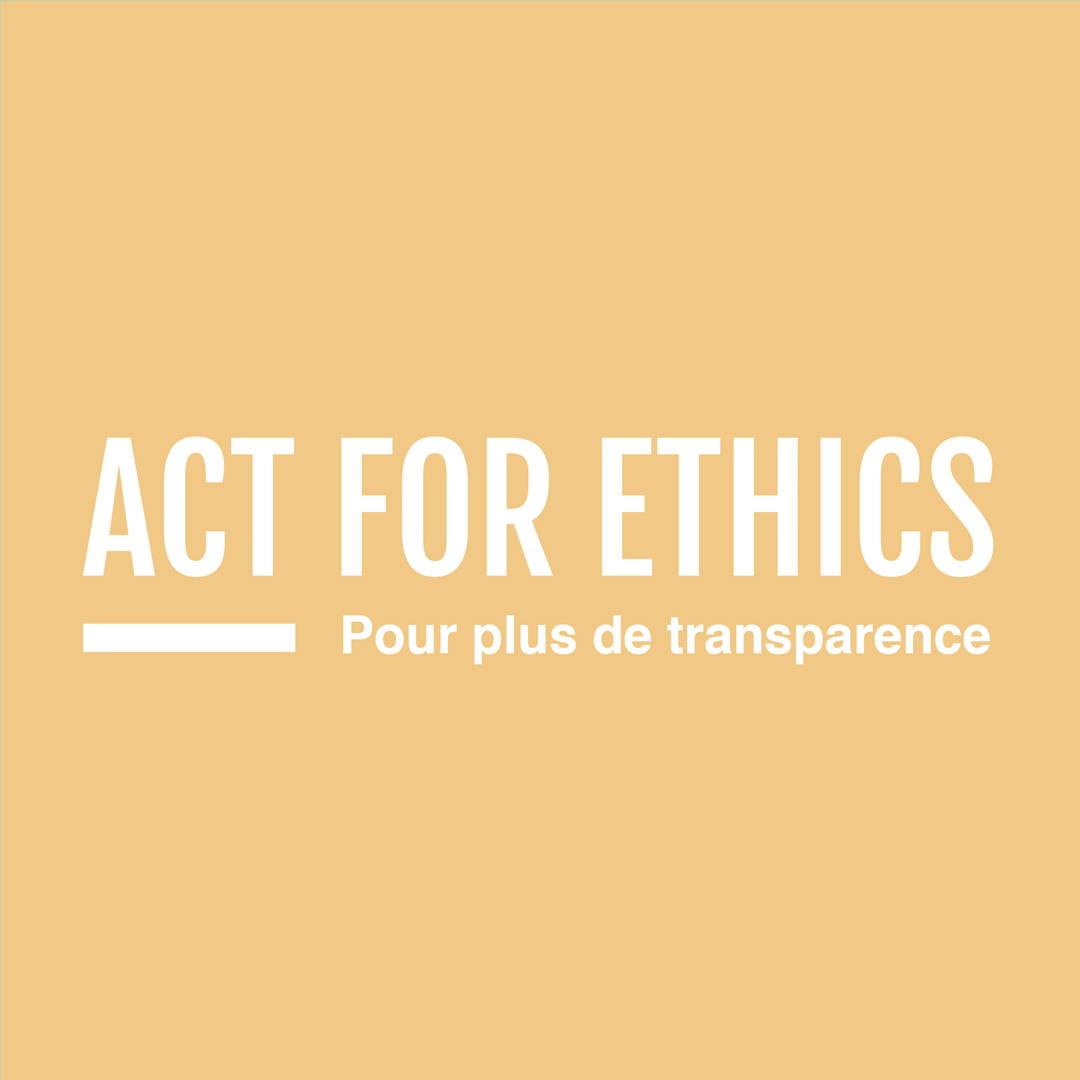 act for ethics, mouvement social et solidaire, commerce équitable, indépendance des femmes , transparence