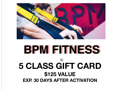 BPM Fitness 5 Pack