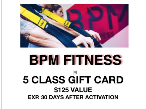 BPM Fitness 5 Pack