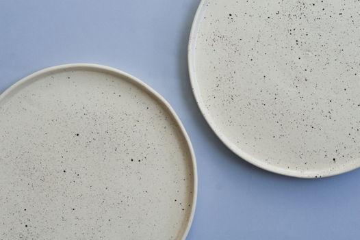 Плоская тарелка «Перепелка»