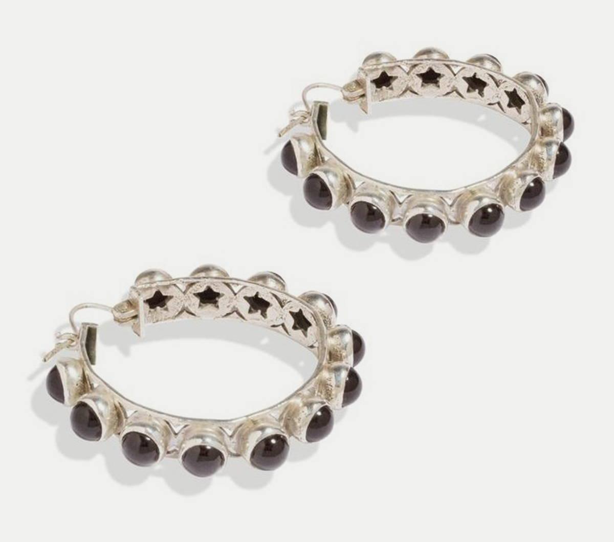 Shari Hoop Earrings