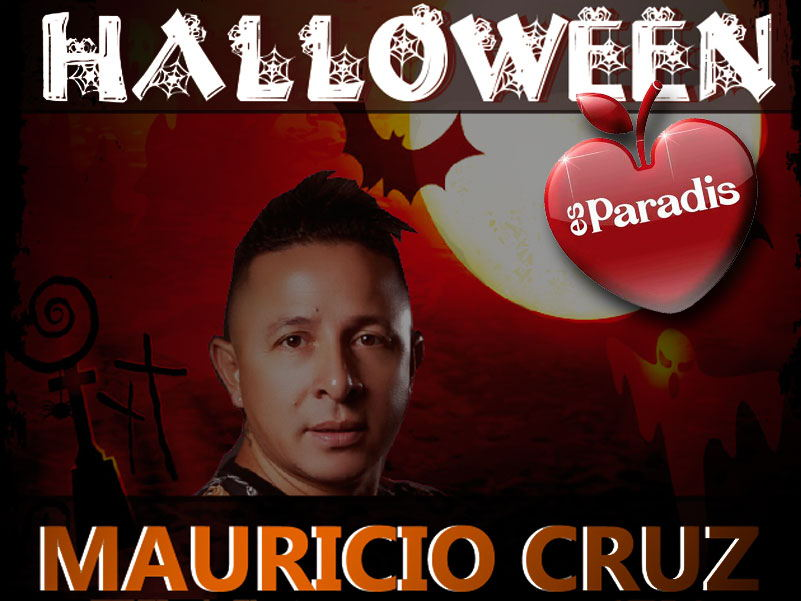Es paradise halloween Ibiza Latin party 2019, Mauricio Cruz