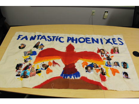 Ms. Saxton's 5th Grade Class Banner