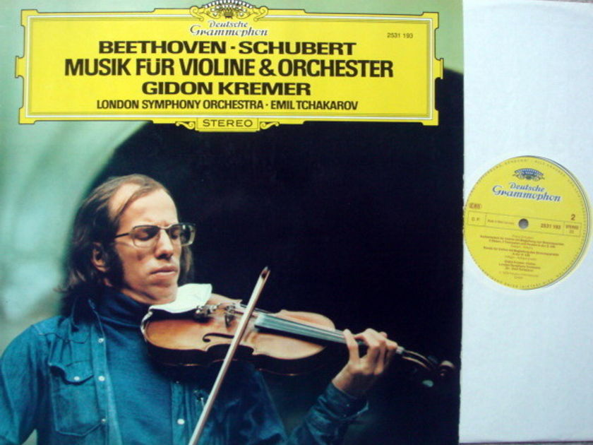 DG / Beethoven-Schubert Music for - Violin & Orchestra, KREMER/TCHAKAROV, MINT!