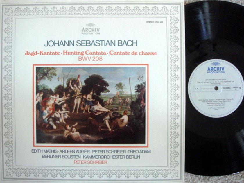 Archiv / SCHREIER, - Bach Hunting Cantata BWV.208, NM!