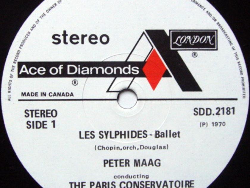 DECCA SDD / PETER MAAG, - Chopin Les Sylphides, NM!