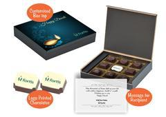 Diwali gift boxes (9 Chocolates - 100 Box)