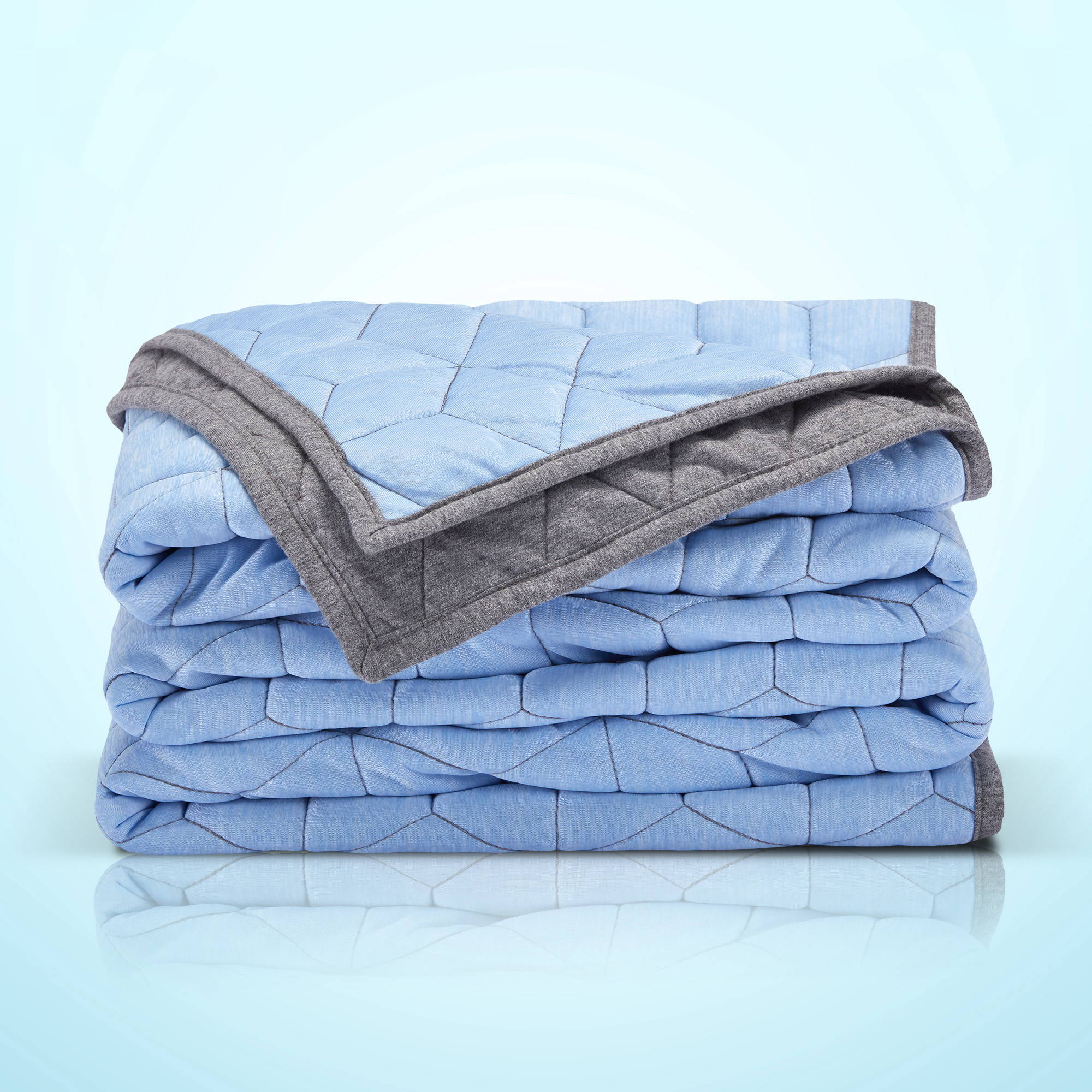 sleep zone bedding website store products collections cooling duvet cover blue bedroom