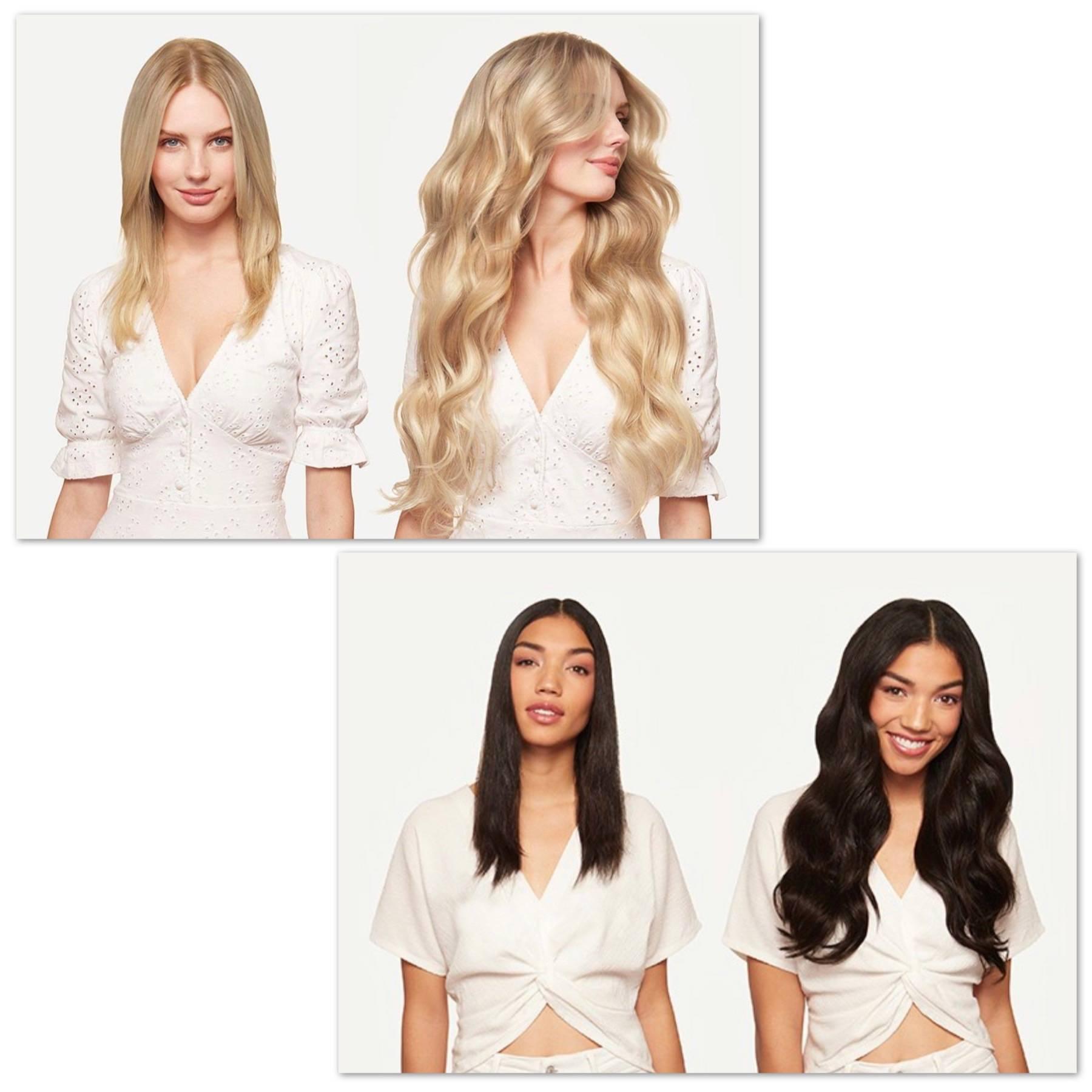 girls use clips gva hair