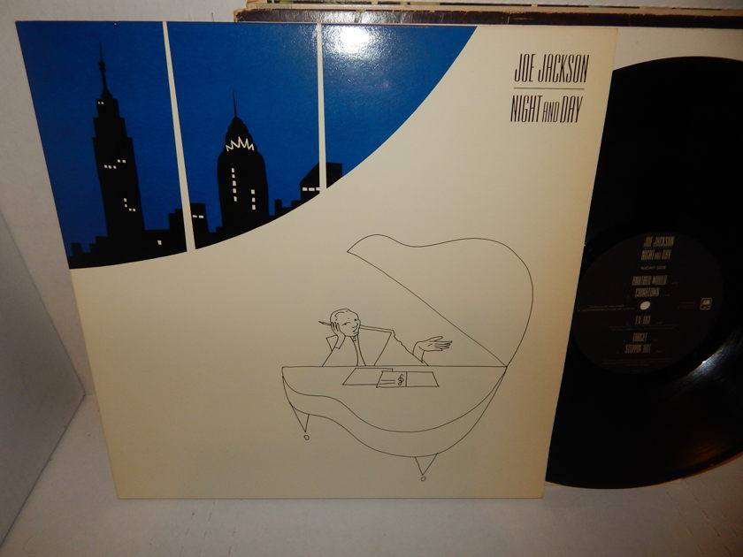 JOE JACKSON Night And Day - '82 SP 4906 Gateold Heavy Weight New Wave Mint LP