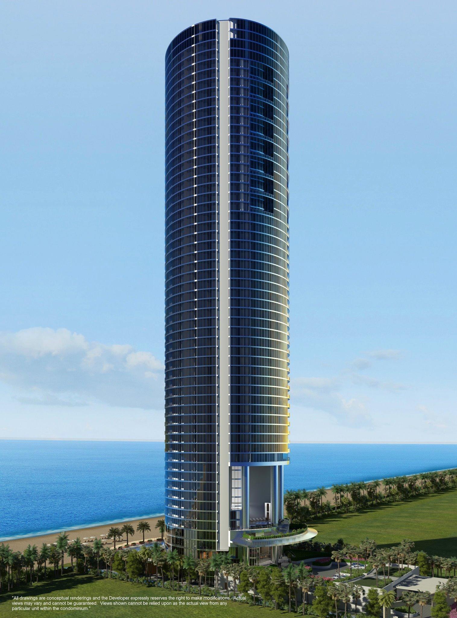 skyview image of Porsche Design Tower