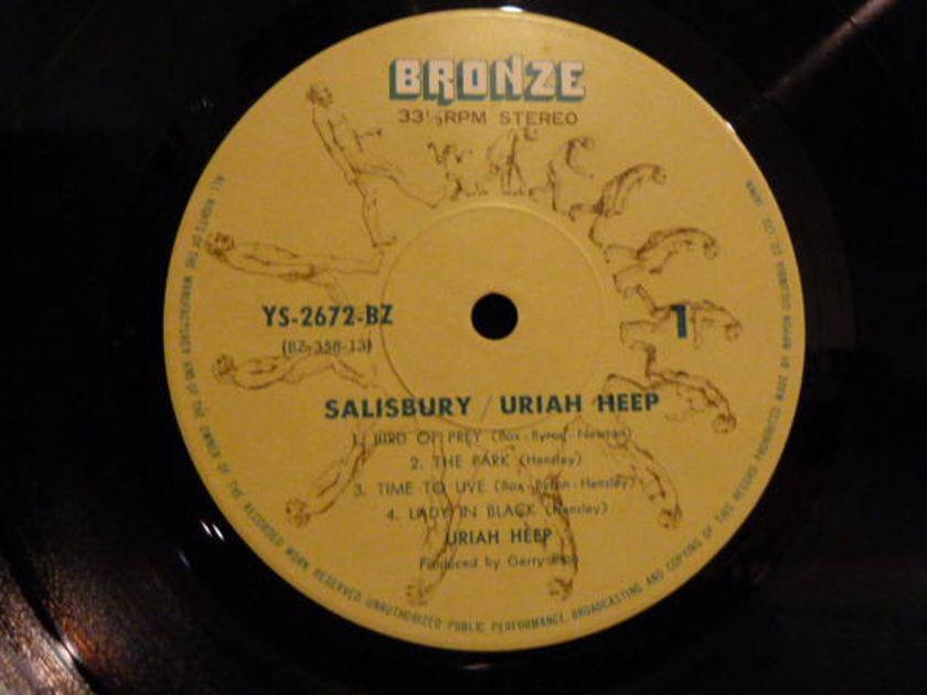 Uriah Heep - Salisbury japanese pressing