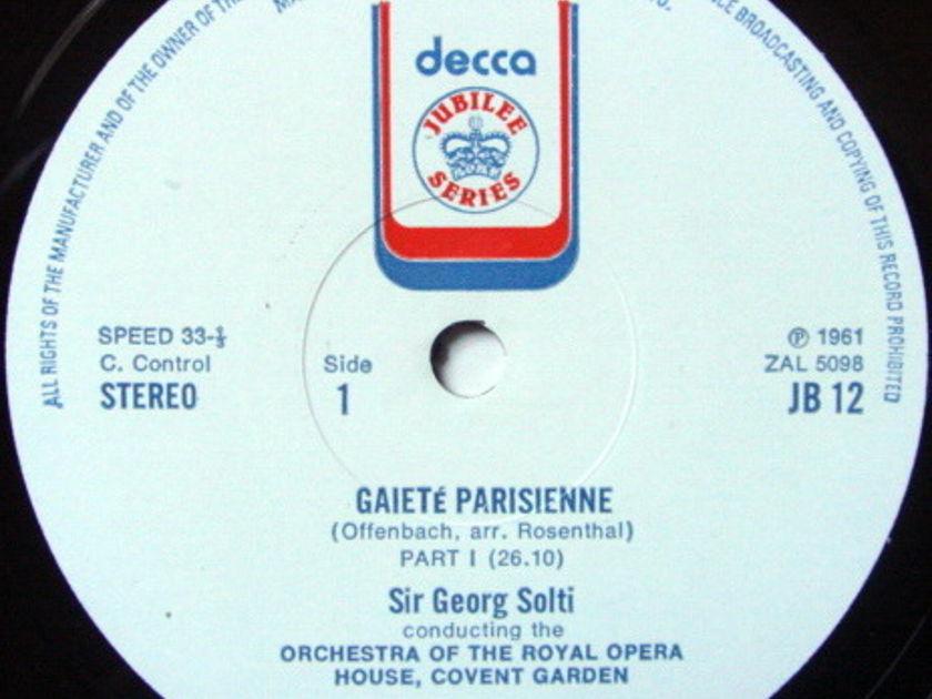 DECCA JUBILEE / SOLTI, - Offenbach Gaite Parisienne, MINT!