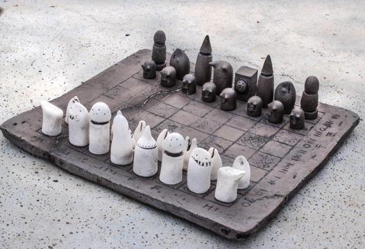 """Шахматы """"Черти против Зайцев"""""""