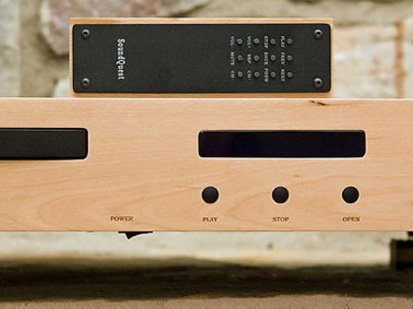 SQ-PRODUCTS SQ-12 CD PLAYER  THE WOODY ..amazing CD Player !