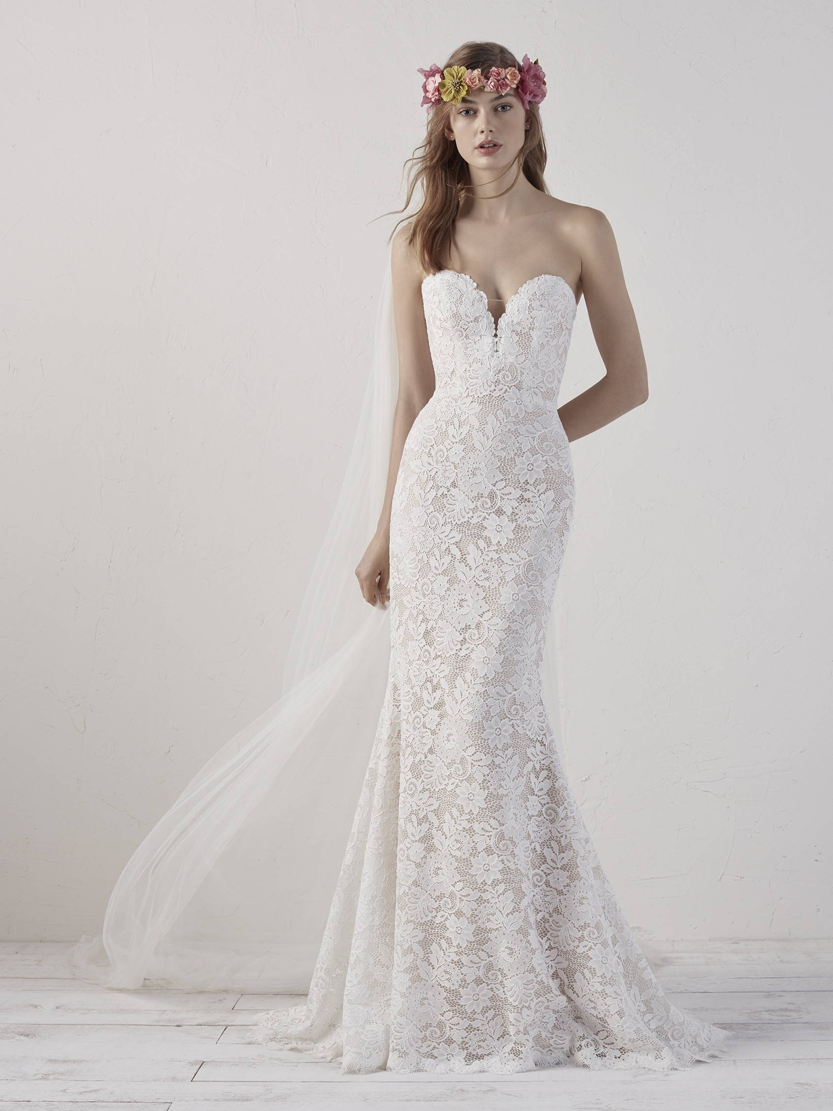 PRONOVIAS EITHEL WEDDING DRESS