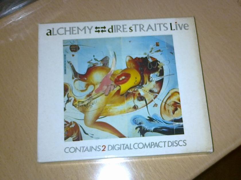 Dire Straits -  - Alchemy Live 2CDs (West Germany Edition, w slipcase)