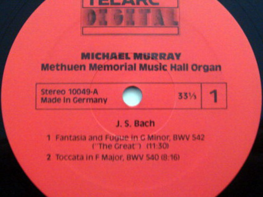 ★Audiophile★ Telarc / MICHAEL MURRAY, - Bach Toccata in F,  MINT!