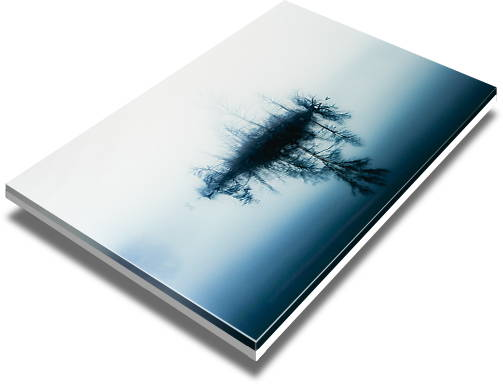 direct acrylic print with gloss surface