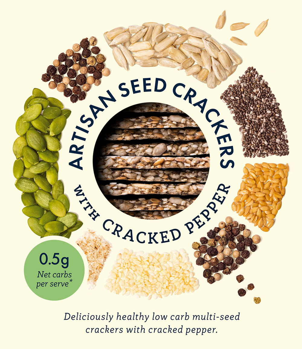 The Low Carb Co Crackers Packaging F PATHS