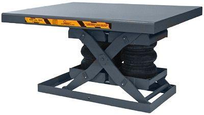 pro air pneumatic pentalift lift table